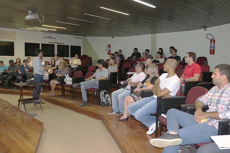 Mestrado Saeg recepciona alunos da turma 2017