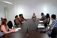 Reunião com os coordenadores dos projetos aconteceu no Centro de Referência.