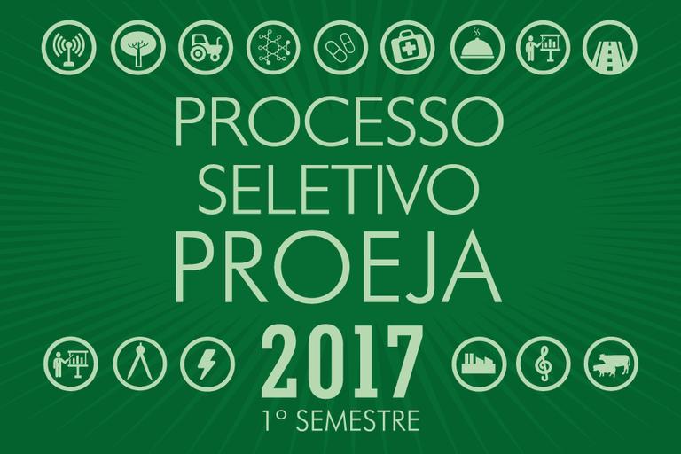 Prazo final para inscrição no Processo Seletivo Proeja 2017