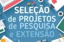 Pro-reitoria apresenta aos servidores edital único de projetos de Pesquisa e Extensão