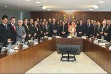 Reitores dos Institutos Federais se reúnem com a presidenta Dilma Roussef