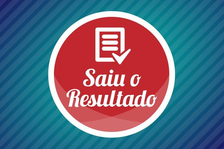 Resultado final do Processo Seletivo de Concomitância Externa 2016/2º Semestre