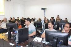 Servidores de diversos campi participaram do treinamento