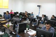 Curso aconteceu no laboratório de informática.