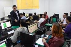 O curso teve a participação de servidores de diferentes instituições federais