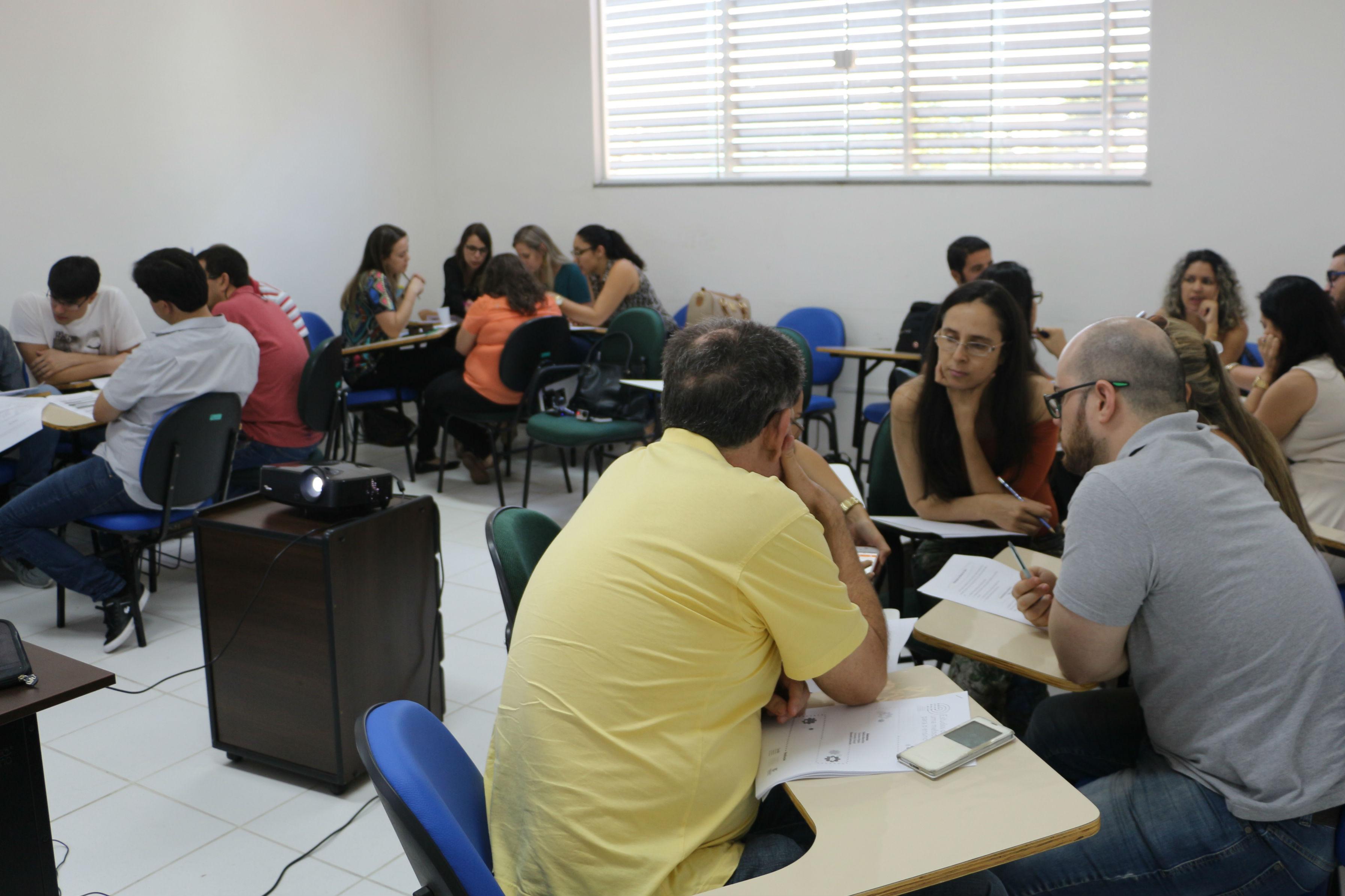 Servidores participam do primeiro curso do Ciclo de Formação Continuada de Docentes