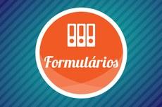Ícone gráfico para a página de Formulários.
