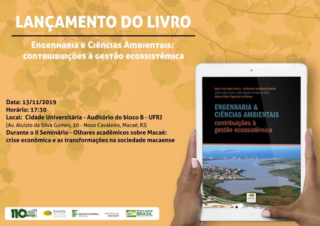 Convite Livro Gestão Ecossistêmica