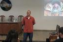 Rafael Costa em palestra no Nupem