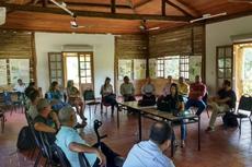 Primeira reunião da Rebio União com a participação do IFFluminense. (Foto: Wilmar Wan-De-Rei de Barros Jr.)