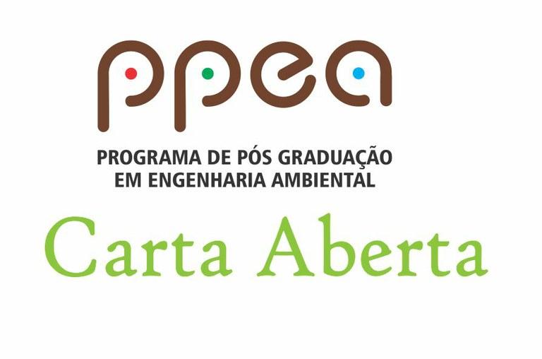 Carta aberta do PPEA
