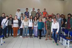 Participantes da Oficina de Fortalecimento do Sanapa. (Foto: Renivaldo Guzzi)
