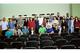 Professores do PPEA com a turma de ingressantes 2018. (Foto: Leonardo Saleh)
