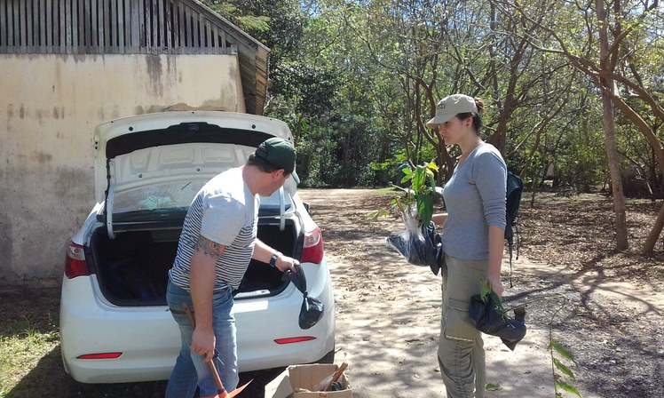 REBIO União - campo para investigação de possibilidade de biorremediação de creosoto em área contaminada