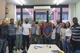 O Colegiado do PPEA após o Seminário de Planejamento para 2019, ocasião na qual foi eleito o novo coordenador, o professor Augusto Eduardo Miranda Pinto.