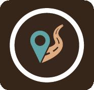 ícone do curso Guia de Turismo.