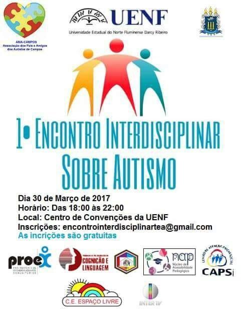1.° Encontro Interdisciplinar sobre Autismo