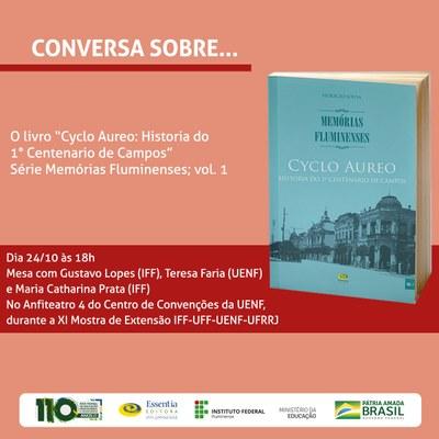 Conversa com o autor: Memórias Fluminenses volume 1
