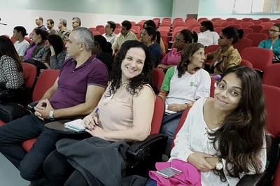 O evento contou com a presença de alunos do curso Proeja e servidores da unidade.