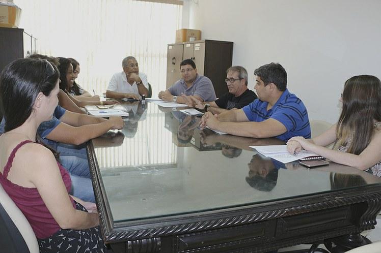 Reunião com a empresa Engeplanfer