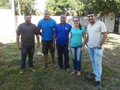 Equipes do campus e do Ciep envolvidas no projeto.