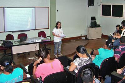 Oficina sobre atrativos turísticos aconteceu no campus Campos Centro.