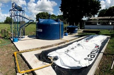 Trabalho de Codigestão Anaeróbica possibilitou reaproveitamento de resíduos (Crédito: Divulgação IFF).