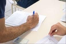 Candidatos devem chegar com uma 1h de antecedência no dia da prova.
