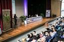 A mesa de abertura contou com a presença dos dirigentes das quatro instituições
