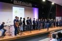 Participação do Coro Uenf na abertura do evento