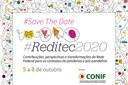 Abertas as inscrições para a Reditec 2020