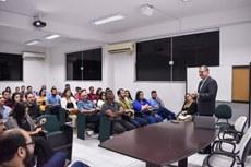 Professor Francisco Rapchan destacou a importância da interação entre academia, empresa e governo para a inovação (Fotos: Mayhara Barcelos)