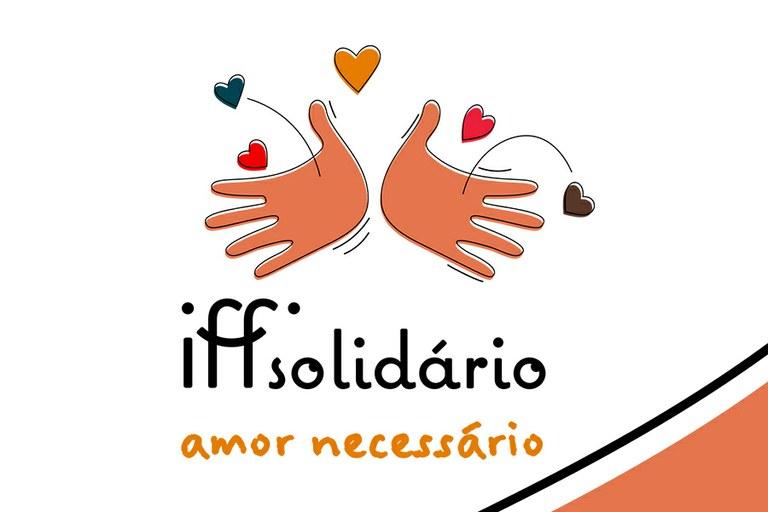 IFF Solidário: Nosso compromisso com a solidariedade, a humanidade e a cidadania (Arte: Júlio Negri)