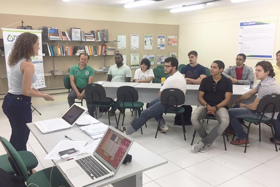 Candidatos participam de seleção para Bolsa de Fomento ao Empreendedorismo