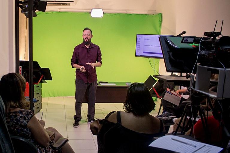 Capacitação para servidores visa produção de conteúdo audiovisual