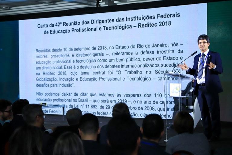 Carta da 42ª Reunião dos Dirigentes das Instituições Federais de Educação Profissional e Tecnológica