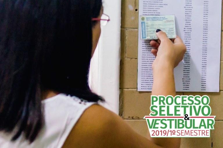 Cartão de  Confirmação do Processo Seletivo
