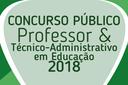 Cebraspe retifica cronograma do Concurso Público 2018