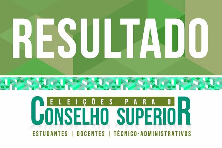 Comissão divulga resultado da eleição para o Consup