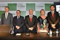 Novos integrantes da diretoria executiva do Conif (Foto: Conif).