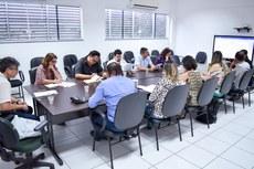 A reunião aconteceu na Reitoria, em Campos.