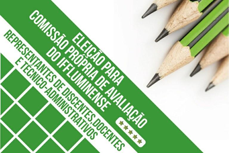 Eleição para Comissão Própria de Avaliação será nos dias 21 e 22 de outubro