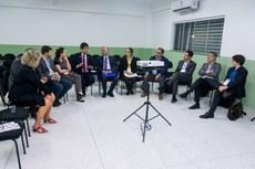 Membros do Unevoc se reuniram no Campus Cabo Frio (Fotos: Érica Signorelli - Ifes)