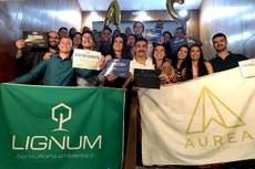 A Áurea e a Lignum conquistaram seis prêmios