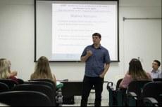Professor Edmundo foi um dos colaboradores no debate.