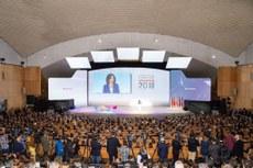 Evento foi realizado na Espanha (Foto: Divulgação).
