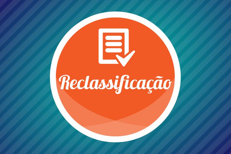 2.as reclassificações do Processo Seletivo e Vestibular