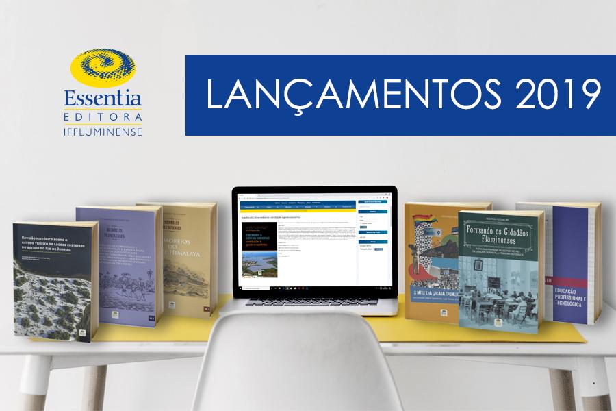 Essentia Editora publica sete livros