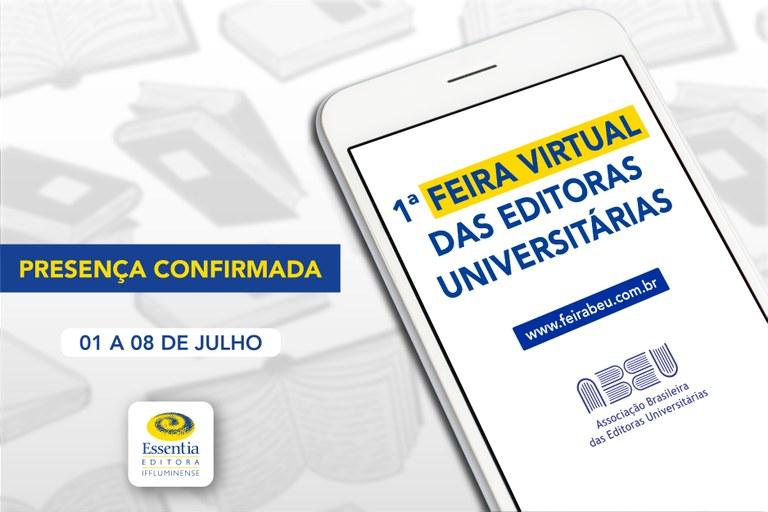 Essentia Editora participa de Feira Virtual de Livros