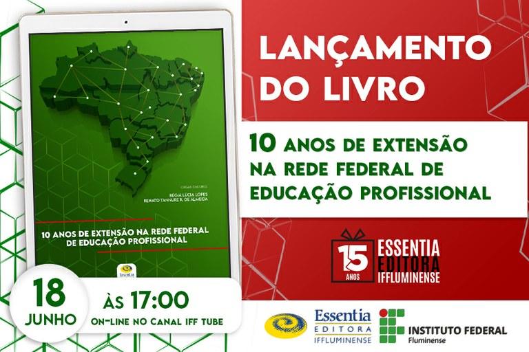 Essentia Editora segue com a programação de ações comemorativas pelos seus 15 anos